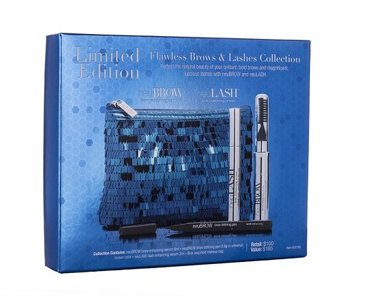 Flawless Brows & Lashes Collection set up box 2